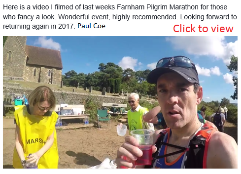 Video of Farnham Pilgrims