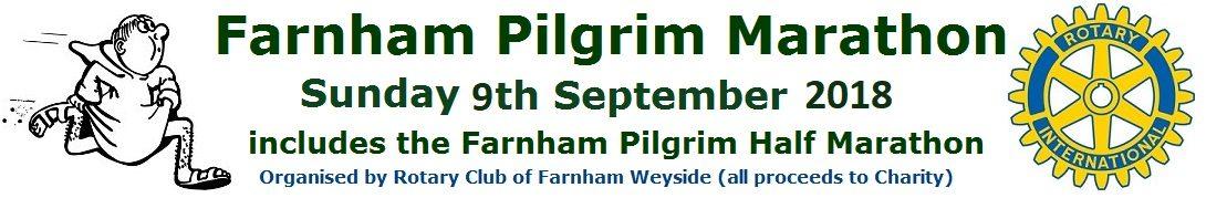 Farnham Pilgrim Marathon 2018